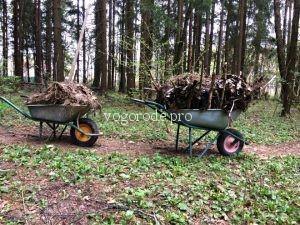 Быстрое приготовление компоста. Компост за один сезон без затрат.